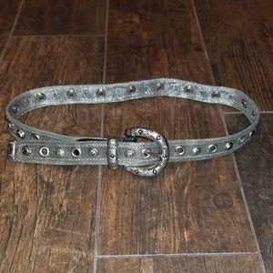 Accessories - Metal chain mesh belt